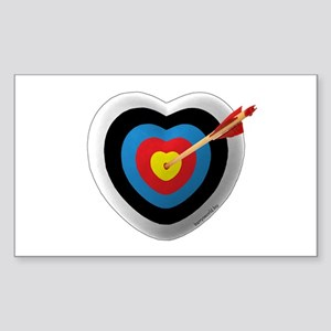 Archery Love 2 Rectangle Sticker )