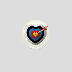 Archery Love 2 Mini Button