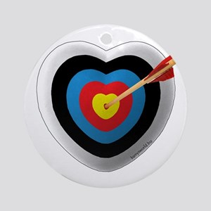Archery Love 2 Ornament (Round)