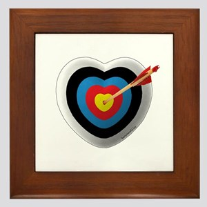 Archery Love 2 Framed Tile