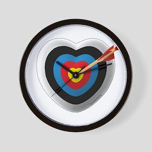 Archery Love 2 Wall Clock