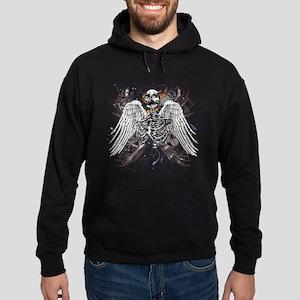 Winged Death Hoodie (dark)