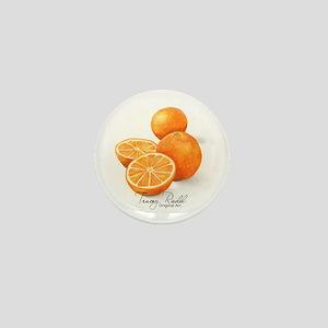 Sliced Oranges - Mini Button