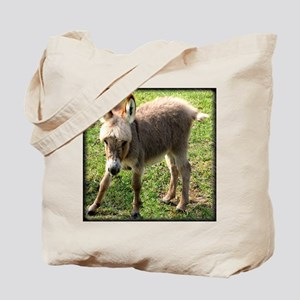 Baby Donkey Wobbly Tote Bag