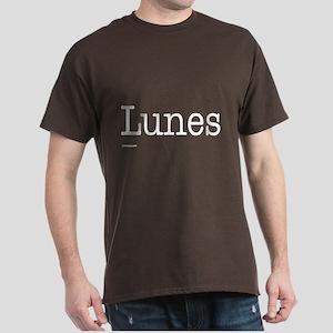 Lunes - On a Dark T-Shirt