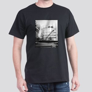 The Galaxy at Pontchartrain B Black T-Shirt