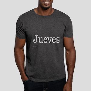 Jueves - On a Dark T-Shirt