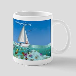Drifting and Sailing Coffee Mug