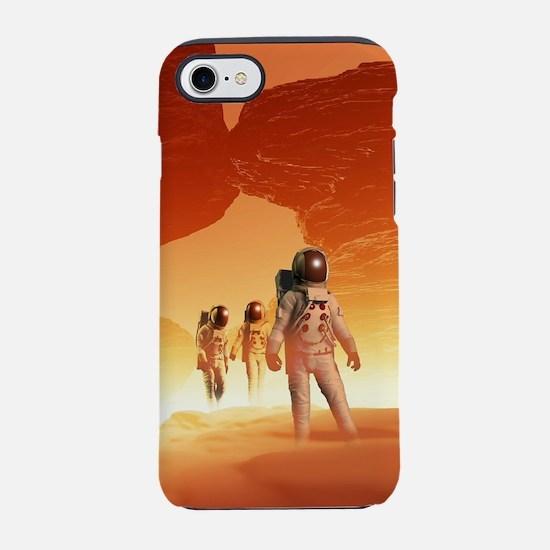 Mars Explorers iPhone 7 Tough Case
