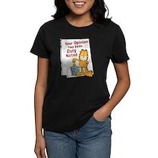 Duly Noted Women's Dark T-Shirt