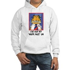 Work Face Hooded Sweatshirt