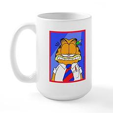 Work Face Large Mug