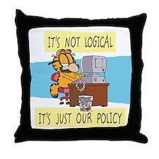 It's Not Logical Throw Pillow