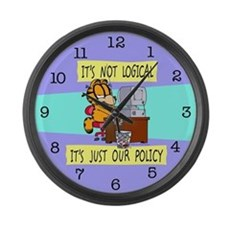 It's Not Logical Large Wall Clock