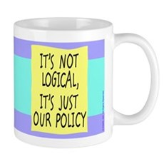 It's Not Logical Mug