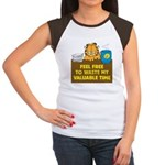 Waste My Time Women's Cap Sleeve T-Shirt