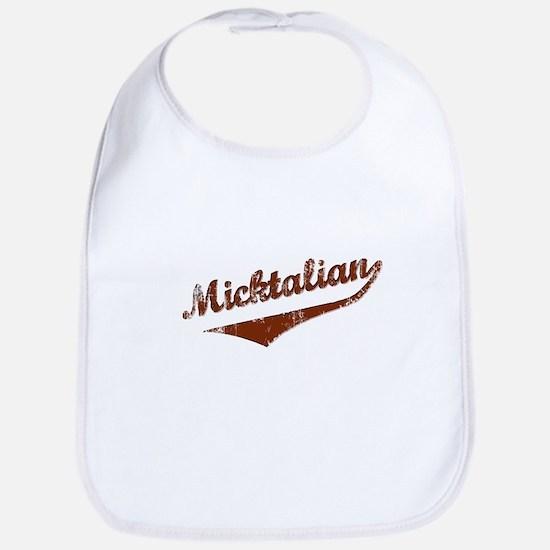 Irish Italian Micktalian Bib
