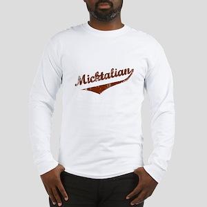 Irish Italian Micktalian Long Sleeve T-Shirt