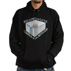 Welcome to the Institution Hoodie (dark)