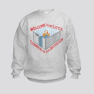 Welcome to the Institution Kids Sweatshirt