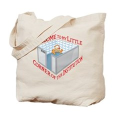 Welcome to the Institution Tote Bag