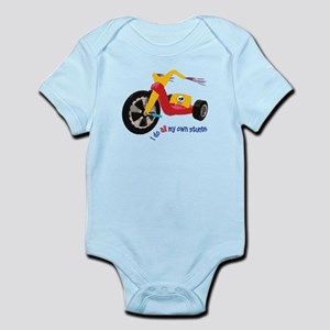 Big Wheel Infant Bodysuit