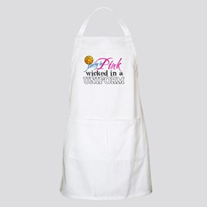 Pretty In Pink Basketball Apron