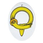 Protege Oval Ornament