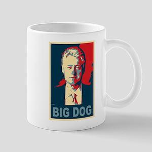 Bill Clinton Big Dog Pop Art Mug