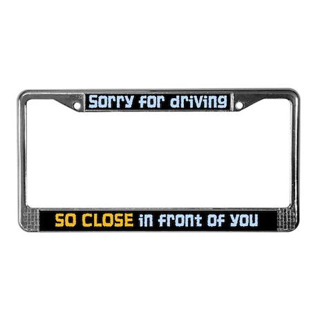 Funny License Plate Frames