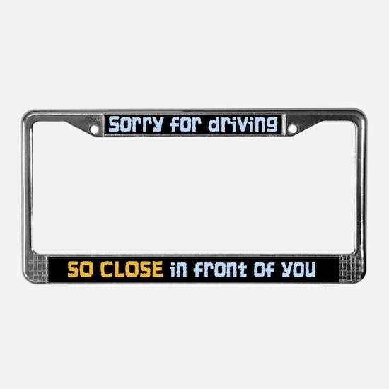Funny License Plate Frames Cafepress