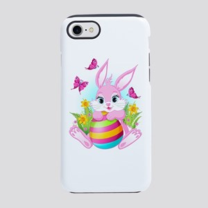 Pink Easter Bunny iPhone 7 Tough Case