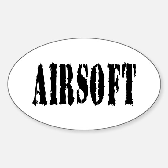 Airsoft Oval Decal
