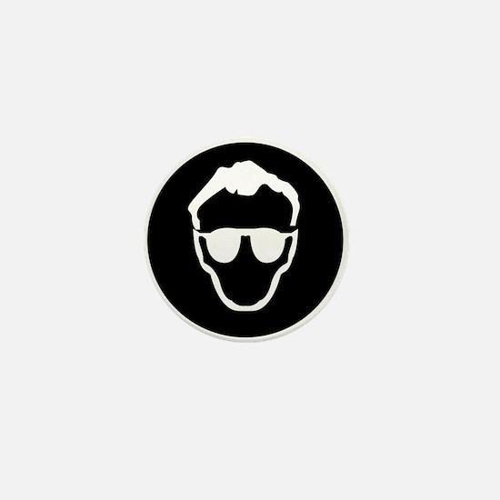 Dr.Who - black Mini Button