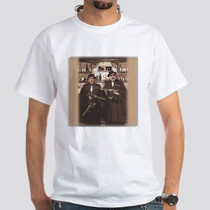The Banksters White T-Shirt