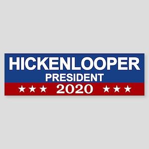 Hickenlooper For President Bumper Sticker