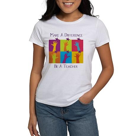 Difference Teacher Women's T-Shirt