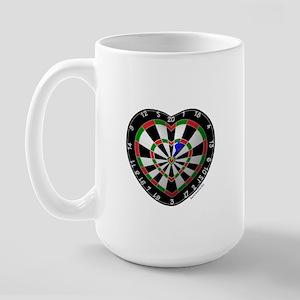 Dart Love 2 Large Mug
