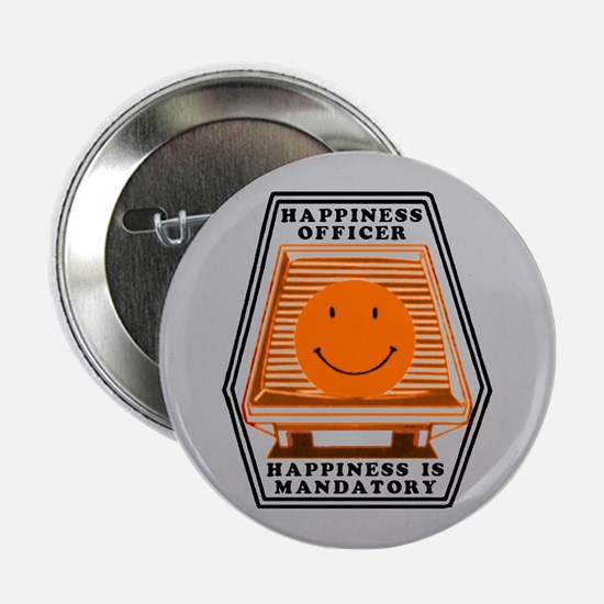"Happiness Officer (O) 2.25"" Button"