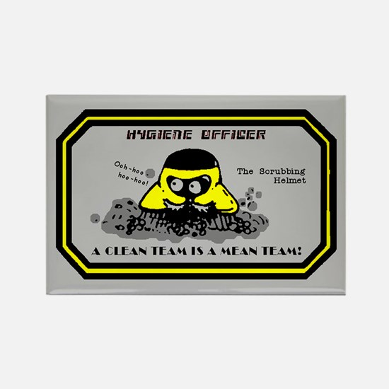 Hygiene Officer (Y) Rectangle Magnet