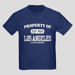 Property of Los Angeles Kids Dark T-Shirt