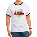Love with Heart Ringer T