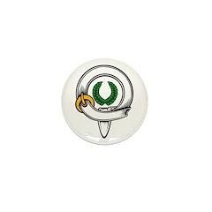 Knight/Laurel Mini Button (10 pack)