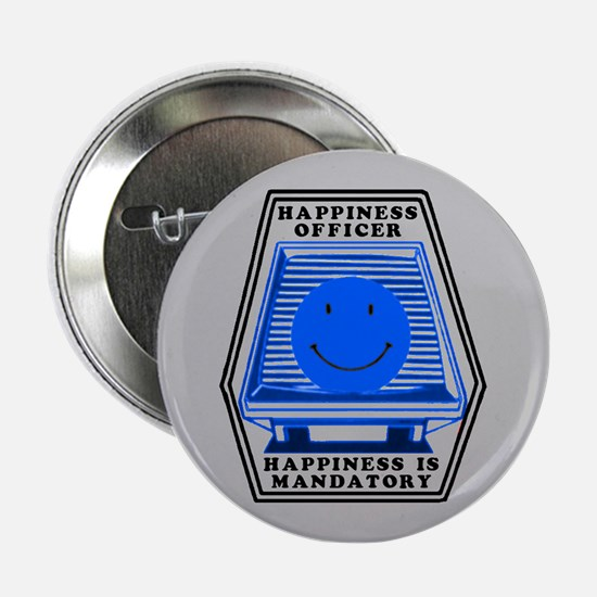 "Happiness Officer (B) 2.25"" Button"