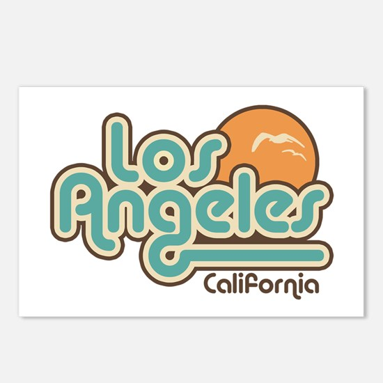 Los Angeles California Postcards (Package of 8)