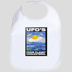 UFO's from Planet Cholesterol Bib