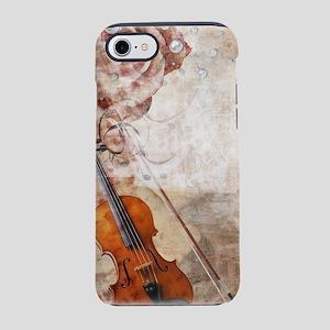 Romantic Violin iPhone 7 Tough Case