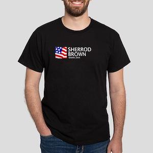Brown 06 Black T-Shirt