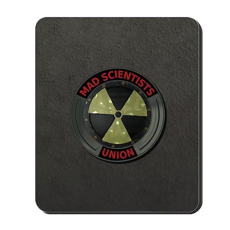 Mad Scientist Union Radioacti Mousepad