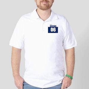 Brown 06 Golf Shirt